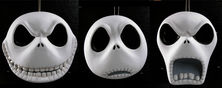 The Nightmare Before Christmas Jack Head Ornaments