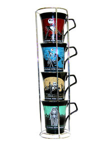 The Nightmare Before Christmas Stackable Mugs Style 2