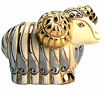 White Ram # 701W Artesania Rinconada Silver Anniversary Collection