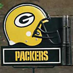 Green Bay Packers NFL Rain Gauge