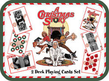A Christmas Story Playing Cards in Collectible Tin