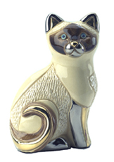 Siamese Cat # 760 Artesania Rinconada Silver Anniversary Collection