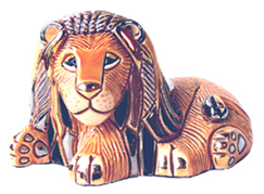 Lion Resting # 777 Artesania Rinconada Silver Anniversary Collection