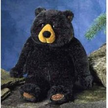 Lou Rankin Cuthbert Black Bear 12""