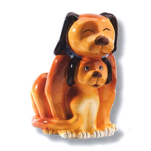 Waxcessories Save a Hug Dogs Ceramic Bank