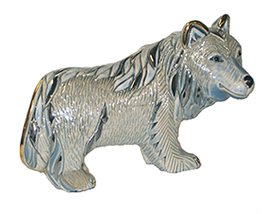 Timber Wolf # 797 Artesania Rinconada Silver Anniversary Collection