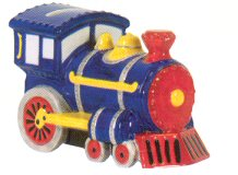 Train Ceramic Money Bank by Waxcessories