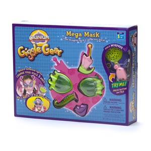 Cranium Giggle Gear Mega Mask, Fairy Parts
