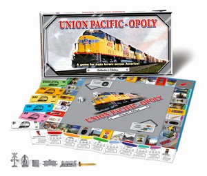 UnionPacific-Opoly Train Board Game