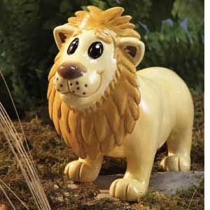 Waxcessories Ceramic Lion Bank