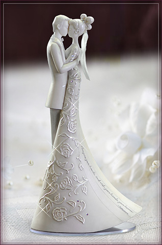 "Wedding Cake Topper ""First-Dance"""