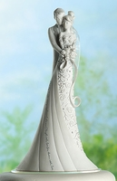 "Wedding Cake Topper ""Embrace"""