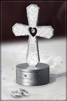 Cross Ring Box 7.5""