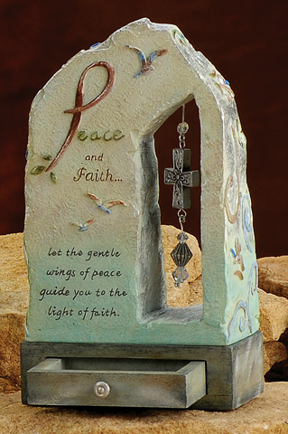 Peace & Faith Plaque
