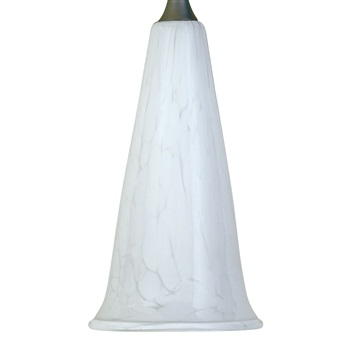 Nora NRS80-490 Trumpet Glass Shade for Pendant