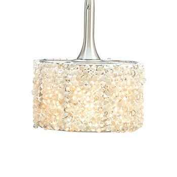 Nora NRS70-603 Round Angoor Beaded Shade for Pendant