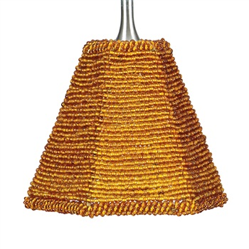 Nora NRS70-606 Tapered Angoor Beaded Shade for Pendant