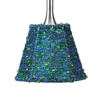 Nora NRS70-608 Empire Angoor Beaded Shade for Pendant