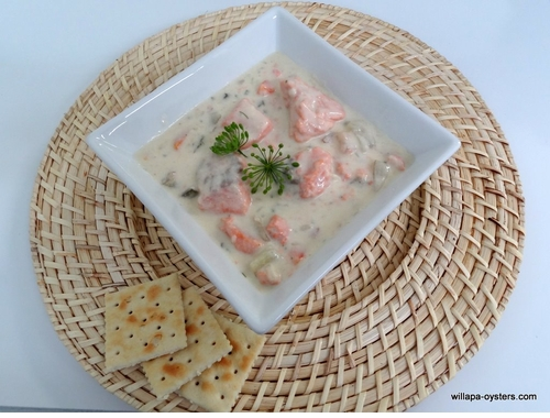 Willapa Wild Salmon Chowder
