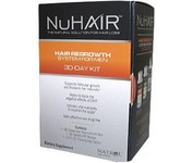 NuHair� Hair Regrowth System for Men <p> 30 day kit