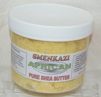 LARGE SHEA BUTTER    Net  weight  16 ozs ( YELLOW )