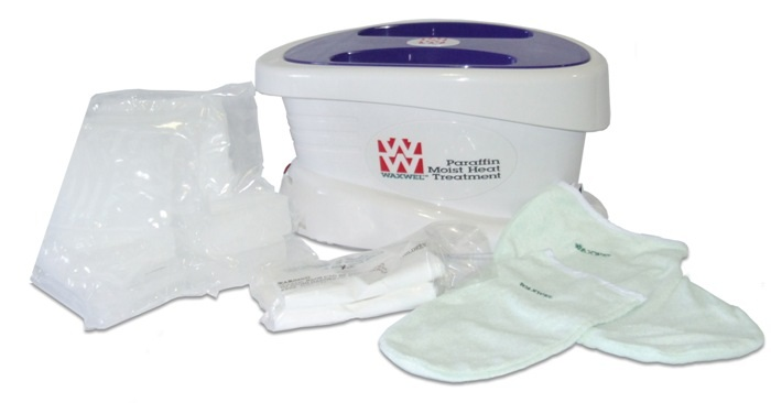 Waxwel Paraffin Bath with 6lbs Wax, Terry Cloth, Mitt and Bootie, 11-1600 at Sears.com