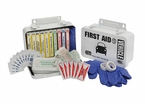 Vehicle First Aid Kit <br> 10 unit - Metal