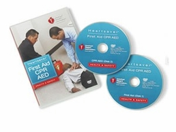 American Heart Association  Heartsaver Course DVD's (2010 Edition)