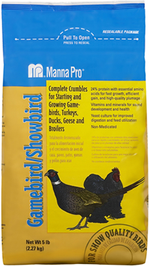 Gamebird and Showbird Feed - 5 lbs.