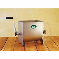 Manual 17 lbs Stainless Steel Mixer