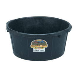 HP650 - 6.5 Gallon Rubber Feed Tub