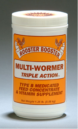 Rooster Booster - Triple Action Multi Wormer
