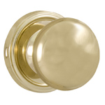 Weslock 610I-3 Polished Brass Impresa Privacy Knob