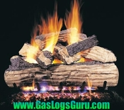 "Split Oak Designer Plus 18"" Vented Logs w/ G4 Burner"