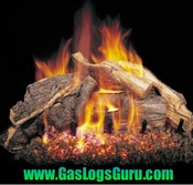 "Woodstack 18"" Vented Logs w/ G4 Burner"