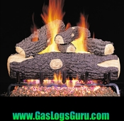 "Woodland Oak 18"" Vented Logs w/ G4 Burner"