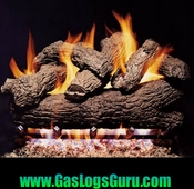 "Royal English Oak 18"" Classic Series Vented Logs w/G4 Burner"