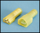 12-10 AWG Nylon Fully Insulated Quick Connector