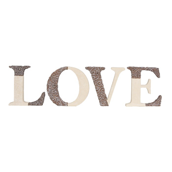 Comfort to Go Love Freestanding Letters by Pavilion Gift