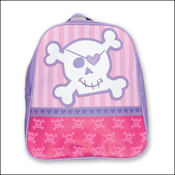 Stephen Joseph Girl Pirate Go Go Backpack