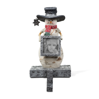 "The Birchhearts 6"" Snowman Stocking Holder by Pavilion Gift"