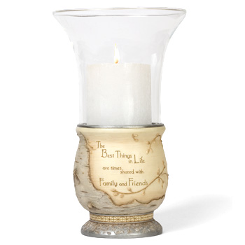 Elements Best Things in Life Pilar Candle Holder by Pavilion