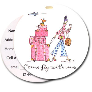 High Cotton Funny Luggage Tags