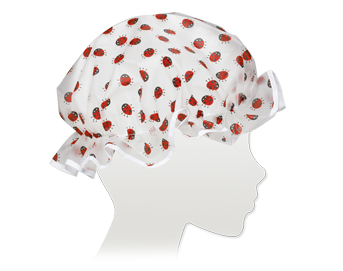 Ore Living Goods Lady Bug Shower Cap