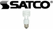 Satco Compact Fluorescent Light Bulbs (CFL)