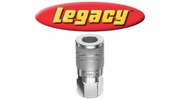 Legacy Steel Quick-Disconnect Couplers and Plugs