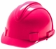 Jackson Safety 3013372  Charger Hard Hat 4 Point Ratchet Suspension - Neon Pink (20403)