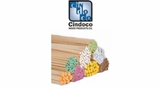 Cindoco Color Coded Wood Dowels