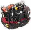 "Performance Tool W88986  18"" Wide Opening Tool Bag with 36 Pockets"