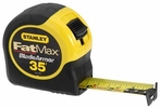 "Stanley 33-735  35' x 1-1/4"" FatMax Tape Measure with Blade Armor Coating"